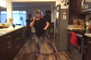 kitchen dancing!